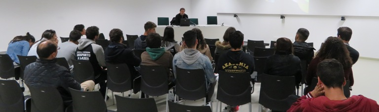 Alunos de Desporto e Lazer do Instituto Politécnico de Viana do Castelo visitaram à In.Cubo
